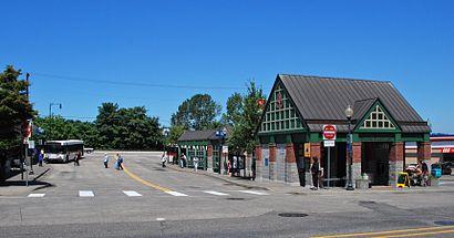 Como chegar até Oregon City Transit Center com o transporte público - Sobre o local