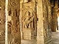 Ornate Pillared hall, Lepakshi, AP (8).jpg