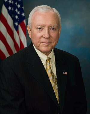 United States Senate election in Utah, 2006 - Image: Orrin Hatch, official 110th Congress photo
