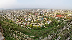 Panoramic view of Osh