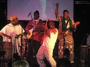 Osibisa - Osibisa, performing at BunkFest, Wallingford, 2008
