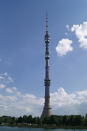 Ostankino Tower - Image: Ostankino Tower, 2015