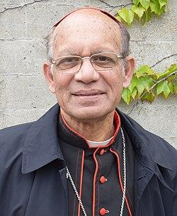 Oswald Kardinal Gracias2, Erzbischof, Mumbai, Indien, 99. Deutscher Katholikentag, Regensburg (cropped).jpg