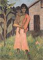Otto Mueller - Stehende Zigeunerin mit Kind - ca1926.jpeg