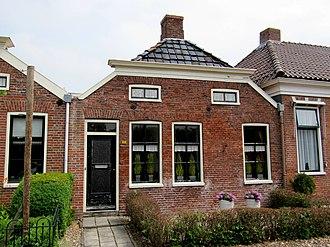 Oudeschans - Houses at the Voorstraat in Oudeschans