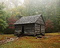 Outbuilding on the Ephraim Bales Place in the Smoky Mountains.jpg