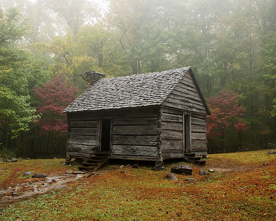 Outbuilding in Roaring Fork, by PeggyElla66.