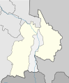 Outline map of Prigorodny District (with position on the map of North Ossetia–Alania).svg