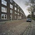 Overzicht gevel, straatzijde, volkswoningbouw - Rotterdam - 20377540 - RCE.jpg