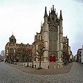 Overzicht zuidzijde met zuider transept - Leiden - 20372154 - RCE.jpg