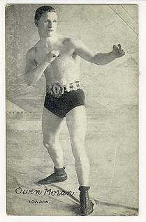 Owen Moran British boxer