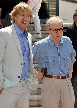 Midnight in Paris - Owen Wilson and Woody Allen promoting the film at the 2011 Cannes Film Festival.
