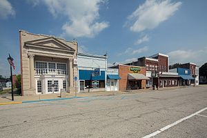 Owensville, Indiana - Image: Owensville, Indiana