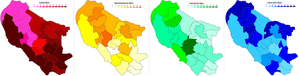 Oxford City Council election, 2008 - Image: Oxford 2008partyshare