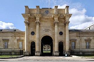 Oxford University Press Publishing arm of the University of Oxford