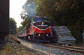 Providence and Worcester Railroad - Image: P&W 4006 Baltic CT