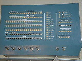 PDP-1 front panel