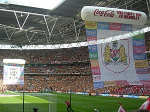 2008 Football League Championship play-off Final - Image: PO final 08 crests
