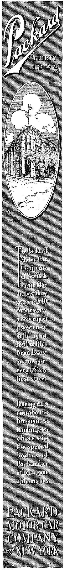 1907 Packard, The New York Times, November 6, 1907 Packard 1907-1106.jpg