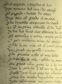 The Cantar de Mio Cid is the oldest preserved Spanish cantar de gesta