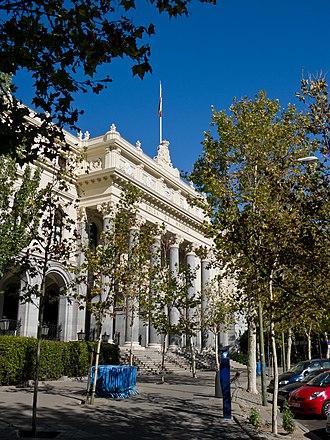 Bolsa de Madrid - Palacio de la Bolsa de Madrid