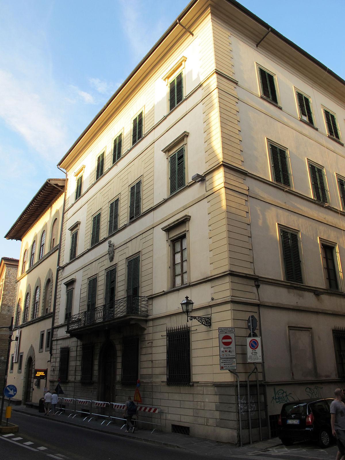 Palazzo fossi wikipedia for Palazzo a 4 piani