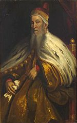 Portrait of Niccolo da Ponte (1491-1585), Doge of Venice