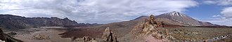 Tenerife - Panorama of Teide National Park