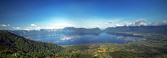 West Sumatra - Image: Panoramaninjau