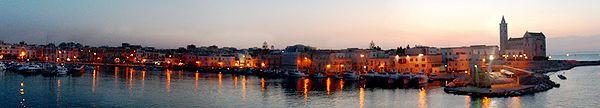Trani dans la province de Bari, région des Pouilles