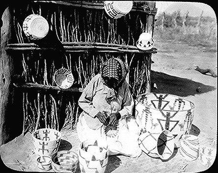 Papago basketmaker