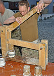 Paper and sawdust, Helping to fuel Afghanistan 130503-F-XX000-003.jpg