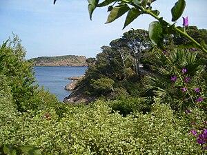 view of the Parc du Mugel, in La Ciotat, Prove...