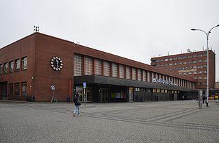 Pardubice main railway station