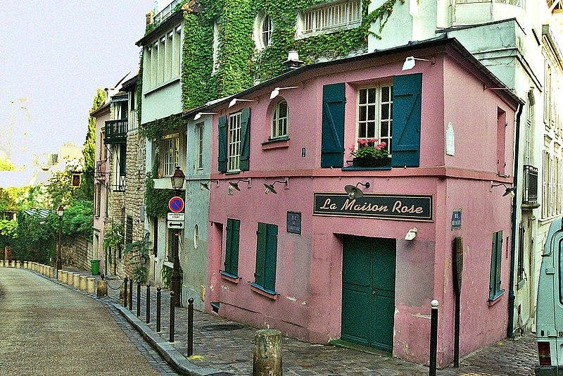 File:Parigi-maison rose.jpg