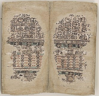Maya codices - Paris Codex
