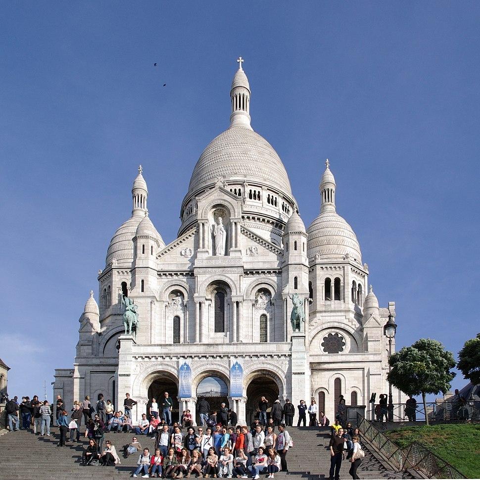Paris Sacre Coeur BW 1