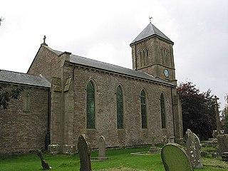 Much Birch Human settlement in England