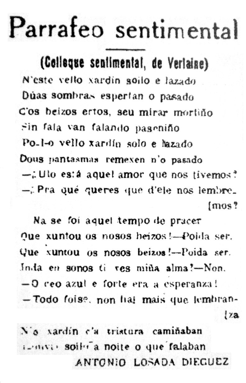 """Parrafeo sentimental""."