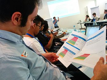 Participation at Evaluation workshop - WMCON 2015 03.jpg
