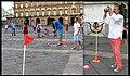 Partita di Golf in piazza del Plebiscito, Napoli - Performance di Augusto De Luca.2.jpg
