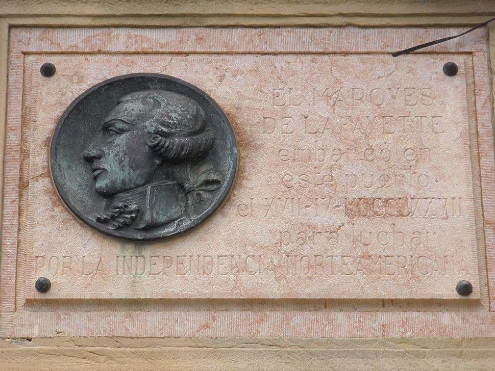 Pasajes de San Juan - Memorial del Marqués de La Fayette