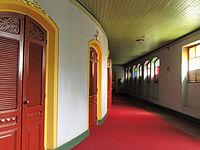 Pasillos de acceso al los palcos de Teatro Nacional de Santa Ana.JPG
