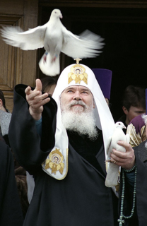 Patriarch Alexy II of Moscow 15th Patriarch of Moscow and all the Rus, the primate of the Russian Orthodox Church