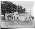Patrick House, Spa State Park, .75 mile southeast of Gideon Putnam Hotel, Saratoga Springs, Saratoga County, NY HABS NY,46-SASPR,2-9.tif