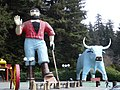 Paul Bunyan and Babe Klamath California.jpg