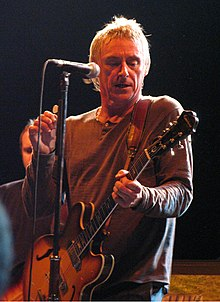 Paul weller at the no cactus festival in belgium