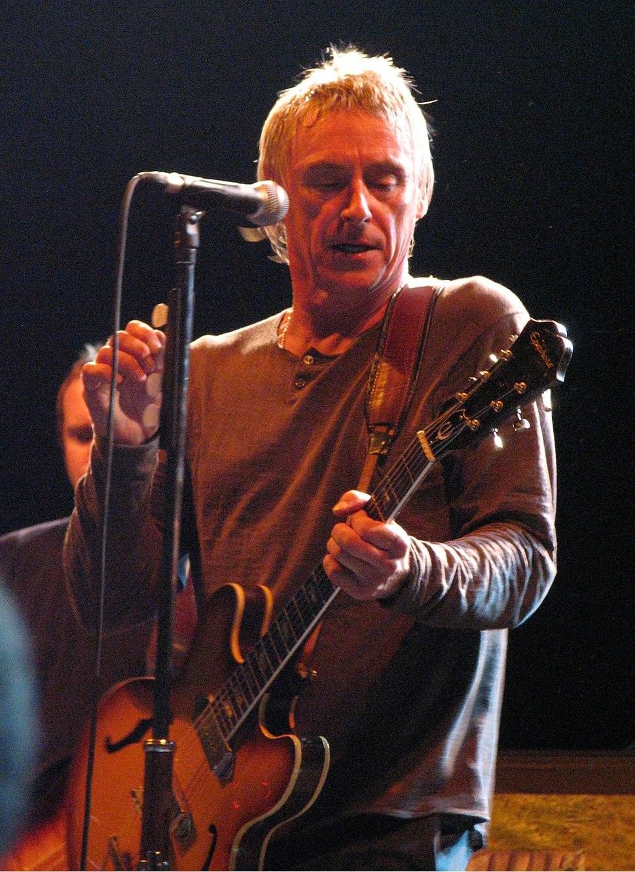 Paul Weller at the No Cactus Festival in Belgium