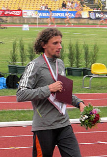 Polish middle distance runner
