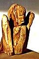 Pedro Meier Skulptur »Kopf-Torso«, Holzplastik, Holz vom Apfelbaum 1988. Skulpturenpark, Kultur Alte Gerberei, (Atelier Alte Gärbi), Kunsthalle, Kunstverein Aarburg, Aargau, Schweiz. Foto © Pedro Meier Multimedia Artist.jpg
